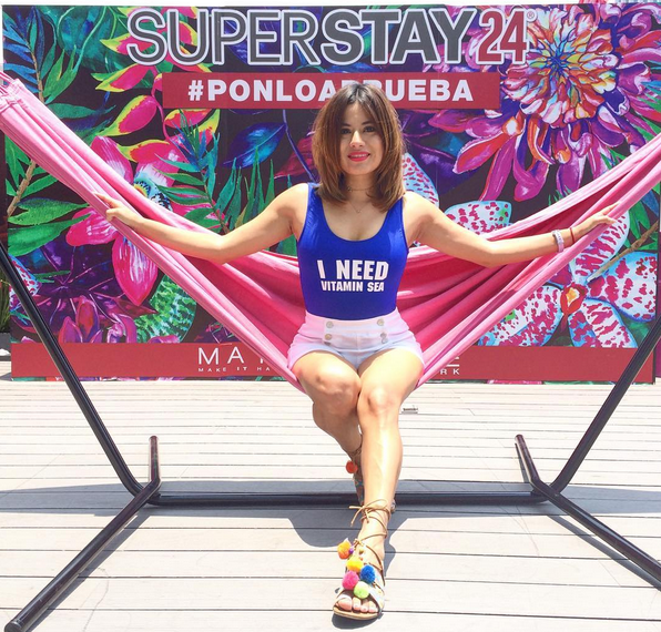 Super Stay 24 Pool Party Con Maybelline #PonloAPruebaMaybelline