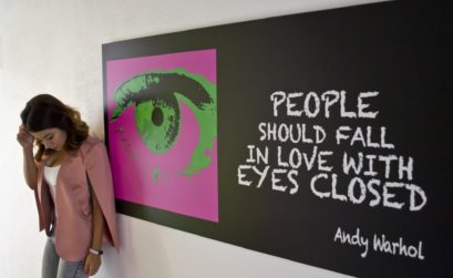People Should Fall In Love With Eyes Closed Andy Warhol